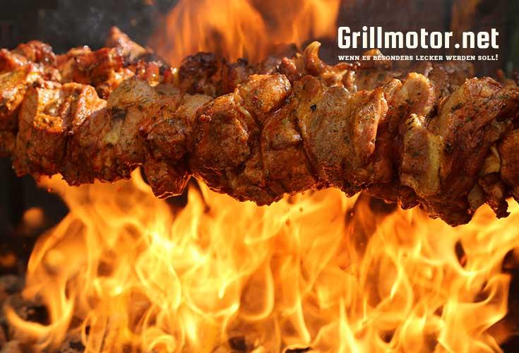 Grillmotor bis 50 Kg für Fleisch, Spanferkel, Lamm, etc.